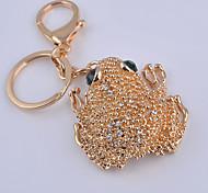 Diamond Frog Key Chain