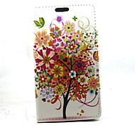 For Samsung Galaxy A3 Red tree Compatible Graphic PU Leather Full Body Cases/Cases with Stand