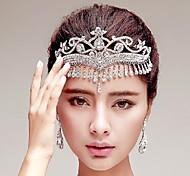 Korean Style Tassel Rhinestones Wedding/Party Headpieces/Forehead Jewelry