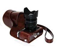 Dengpin PU Leather Oil Skin Detachable Camera Cover Case Bag for Fujifilm X-E2 X-E1 (Assorted Colors)