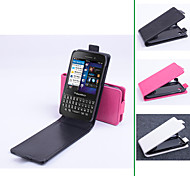 PU Leather  Protective Case With Holder Stand for BlackBerry Q5(Assorted Colors)