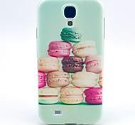 motif hamburger TPU couverture souple pour les Samsung Galaxy S i9500