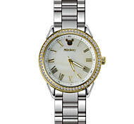 Business lady's dress watches with crystal index shell dial strength glass free shipping DC-51055