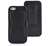 Hybrid Impact Shockproof Cover Hard Armor Shell for Apple iPhone 6 (Black)