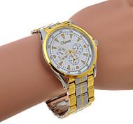 banda de liga de multi-colorido relógio de quartzo de unisex