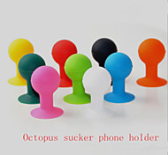 Creative Silicone Octopus  Suction Cup Bracket Phone Handset for All Mobile Phones (Assorted Color)