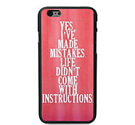Yes I've Make Mistake Design PC Hard Case for iPhone 5C