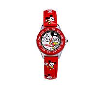 vendita calda famosi bambini di alta qualità dell'unità di elaborazione di modo della fascia del fumetto di marchio Disney quarzo Wacthes