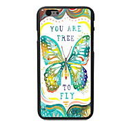 Free to Fly Design PC Hard Case for iPhone 6