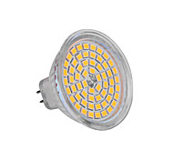 GU5.3(MR16) 6W 60x2835SMD 720LM 2800-3200K/6000-6500K Warm White/Cool White Light LED Spot Bulb (DC 12V)