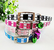 Dazzle Colour The PU Cat Collars For Cats