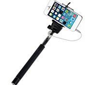 mowto z01 Hand Selfie Stange Einbeinstativ für GOPRO HERO&Auslöser für ios / android Handys-schwarz