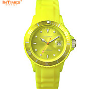 InTimes brand silicone watches Women's Quartz Wrist Watch