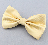 SKTEJOAN® Men's Fashionable Solid Color Bow Tie