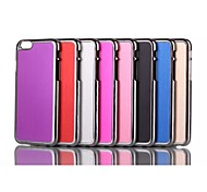 The New Metal wire Drawing Case Cover for iPhone 6S Assorted Color