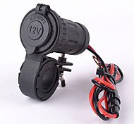 Motorcycle Car Waterproof Plug Socket Adapter 12V/24V