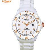 InTimes IT-057G Plastic Case Japan Movement Sillicon Band Watches