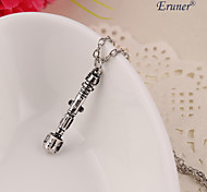 Eruner®Doctor Who Necklace Sonic Screwdriver Vintage Antique Silver Pendant jewelry
