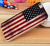 USA-Flagge Malerei TPU fallsicher Fall für iphone6 / 6s