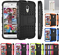 Kemile Unique Grenade Grip Rugged Rubber kin Cover For Moto G2(Aorted Color)