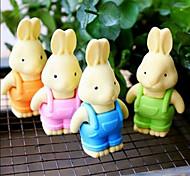 Detachable Rabbit-Shaped Eraser (2PCS Random Color)