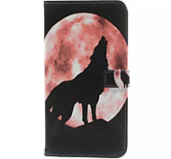 For HTC Case Card Holder / Wallet / with Stand / Flip Case Full Body Case Animal Hard PU Leather HTC