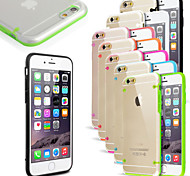 Ultra Transparent Light Cover Case for iPhone 6 (Assorted Colors)