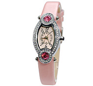 women's vintage watch with big diamond