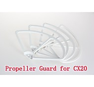 cheerson cx-20 propeller prop spatbord beugel set / 4 stuks rc quadcopter onderdelen CX-20-025