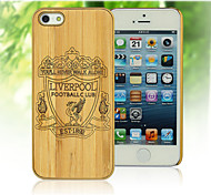 Handmade Natural Bamboo Hard Case Cover for iPhone 5/5S