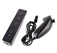 Game handle Wired Nunchuck and Remote Controller with Motion Plus for Nintendo Wii /Wii U  (Assorted Colors)