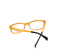 Jimmy Orange [Free Lenses] Rectangle Full-Rim Computer Eyeglasses