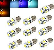 10 Stück Ding Yao Dekorativ Lichtdekoration BA9S 2 W 100-300 LM K 5 SMD 5050 Kühles Weiß/Rot/Blau/Gelb/Grün DC 12 V