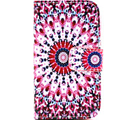 Masonry  Pattern PU Leather Case with Magnetic Snap and Card Slot for Samsung S3 Mini I8190N