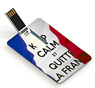 4GB Keep Calm Et Quite La France Design Card USB Flash Drive