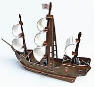 DIY Large Pirate Ship Three-Dimensional Jigsaw Puzzle