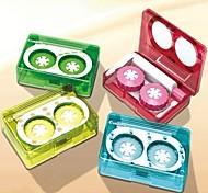 cas bande dessinée bande rembobinage bonbons élégant en plastique de couleur des lentilles de cantact (couleur aléatoire)