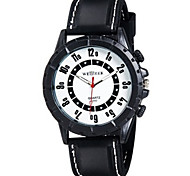 Men Silicone movement quartz watch