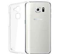 capa de silicone para trás transparente para Samsung Galaxy S6
