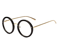 Round Classic Retro Full-Rim Eyeglasses