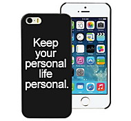 Fashion Design PC Hard Case for iPhone I4
