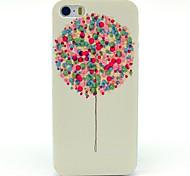Dandelion type balloon Drum Pattern Hard Plastic Case for iPhone 5/ 5S