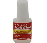 1PC Nail Art  Glue with Brush(10ML)