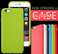 Original Smooth Silicone Case Cover for iPhone 6/6S (Assorted Colors)