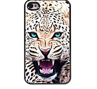 The Leopard Design Aluminum Hard Case for iPhone 4/4S