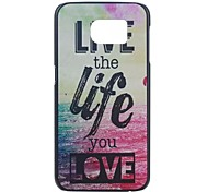 Samsung Samsung Galaxy S6 compatible Graphic Plastic Back Cover
