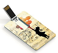 16GB The Girl Design Card USB Flash Drive