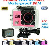"EST SJ6000 1080P 2.0"" Outdoor Action Cam 170° Wide Angle Digital Mini Camcorder Sports Camera (Assorted Colors)"