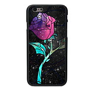 Unique Rose Design PC Hard Case for iPhone 6 Plus