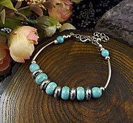 Europe And The American Bohemia Style String Bead Turquoise Bracelet